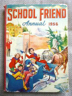 Excited to share this item from my shop: Vintage School Friend Annual Girls' Comic Book. Story Titles, Ladybird Books, Viking Ship, Reading Stories, Vintage School, Vintage Children's Books, Book Photography, Read Aloud, Paperback Books