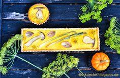 S-Küche: Steinpilz-Kürbis Tarte http://s-kueche.blogspot.de
