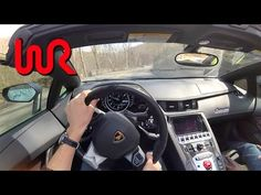 We Drive DoctaM3's 2014 Lamborghini Aventador LP720-4 50º Anniversario! - YouTube