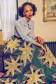 ♡Demestiks NYC ~African fashion, Ankara, kitenge, Kente, African prints, Senegal fashion, Kenya fashion, Nigerian fashion, Ghanaian fashion ~DKK
