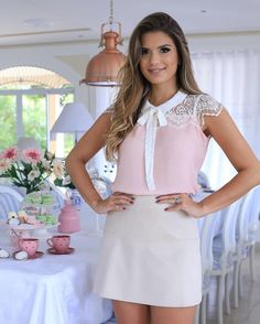 Summer Work Outfits, Summer Dresses, Conservative Fashion, Girl Fashion, Womens Fashion, Blouse Patterns, Blouse Styles, Skirt Outfits, Blouses For Women
