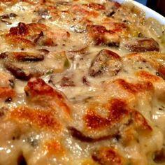 Creamy Chicken And Mushroom Polenta Lasagna Recipe