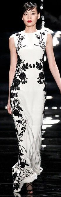 Reem Acra 2013 ♥✤   Keep the Glamour   BeStayBeautiful