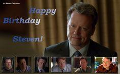 2015: Dec 3 -- Happy Birthday to Steven Culp!