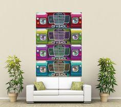 Land Rover Series III wall art via eBay