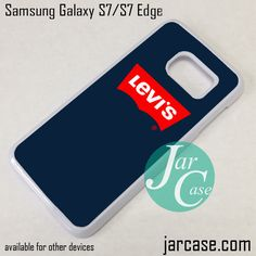 Levis Logo Phone Case for Samsung Galaxy S7 & S7 Edge