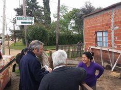 Cambiemos Concepción del Uruguay: Juan Ruiz Orrico y Jorge Osorio en el barrio San I...