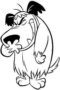 Wacky Races Muttley coloring pages | Coloring Muttley laughs picture