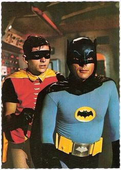 Adam West and Burt Ward starred as Batman and Robin in the campy TV series 'Batman'. It aired on ABC for three seasons from January 1966 to March The show was aired twice weekly for its first two seasons, resulting in the production of 120 episodes. Batman Tv Show, Batman Tv Series, Adam West, Batman 1966, Batman Robin, Batman Batman, Real Batman, Batman Arkham, Heros Disney