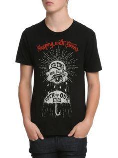 Sleeping With Sirens Umbrella T-Shirt