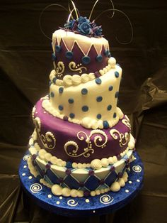 Whimsical Wedding Cakes, Wedding Wonderland Cake Gallery, St. Louis