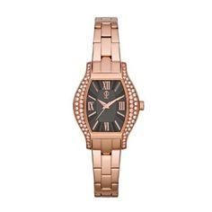 I kinda like the rose gold watch with bracelets look:)   Jennifer Lopez Rose Gold Tone Stainless Steel Crystal Watch - Women