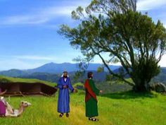In this movie clip, the bible scene in the book of Genesis is explained where Jacob leaves Laban after working for him for several years. This scene in the Bible is similar to the Merchant of Venice where Jessica wants to leave Shylock for bigger and better things in her life, which is what Jacob did. Both Jessica and Jacob wanted to and did leave their father/master after being under them for many years.