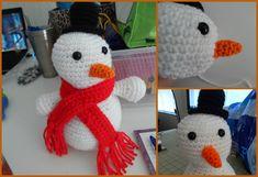 Cómo hacer un muñeco de nieve de crochet - IMujer