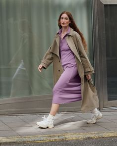 #andotherstories #stockholm #atelier #fall #fashion #outfit #inspiration #winter #boots #dress Duster Coat, Color Combos, Jackets, Whats New, Winter Boots, Stockholm, Fall Fashion, Inspiration, Outfits