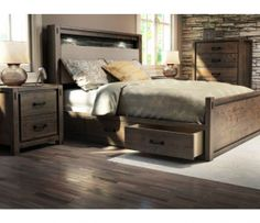 Shop for the Defehr Series 697 Queen Bedroom Group at Stoney Creek Furniture - Your Toronto, Hamilton, Vaughan, Stoney Creek, Ontario Furniture & Mattress Store Queen Bedroom, Bedroom Sets, Home Bedroom, Master Bedroom, Bedrooms, Kids Bedroom Furniture, Furniture Design, Luxury Furniture Brands, Headboard And Footboard