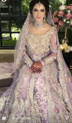 Valima bride Asian Bridal Dresses, Asian Wedding Dress, Pakistani Wedding Outfits, Pakistani Bridal Dresses, Pakistani Wedding Dresses, Bridal Outfits, Designer Wedding Dresses, Indian Dresses, Wedding Sari