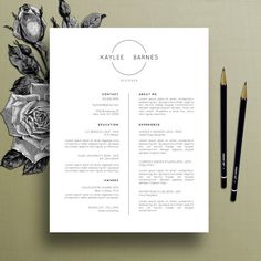 Professional Resume Template CV Template by TheCreativeResume