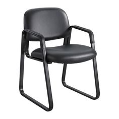 Safco 7047BV Cava® Urth™ Sled Base Guest Chair
