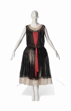 Jeanne Lanvin, robe de style, 20's