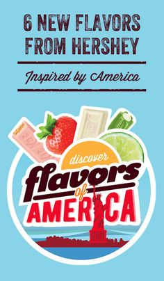 We're taking you on a virtual trip and flavor tour of America! Join us in California, Georgia, Hawaii, Florida, New York City, & Texas in celebration of The Hershey Company's new flavors—KIT KAT® Strawberry Flavored Wafer Bars, REESE'S Honey Roasted Flavored Peanut Butter Cups, HERSHEY'S KISSES Coconut Almond Flavored Candy, TWIZZLERS Key Lime Pie and Orange Cream Pop Flavored Twists, HERSHEY'S Cherry Cheesecake Flavored Bar, and PAYDAY BBQ Flavored Bar!