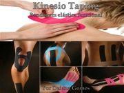 Medicina e Saúde - Fisioterapia - Kinesio Taping - Bandagem Elástica Funcional