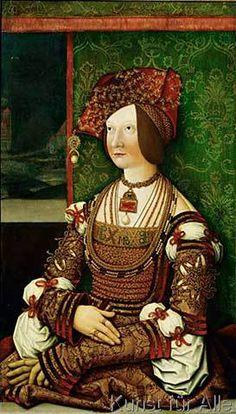 Bianca Maria Sforza - Bianca Maria Sforza / B. Strigel