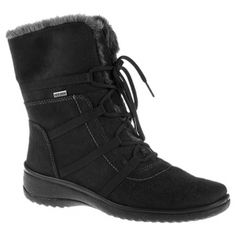 Womens Ara Magaly Ankle Boots Black Synthetic - ONLY $212.95