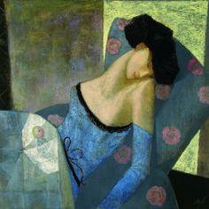 "Pintura de Andrey Aranyshev.  ""Relaxation"""