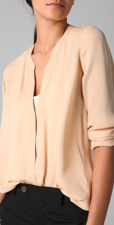 Vince blouse @shopbop