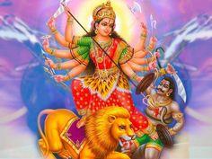 Durga Sahasranamam means 1000 names of supreme Goddess Durga. Shri Durga names describe 1000 qualities of Mata Durga. Buy Durga Sahasranamam online from India Navratri Songs, Navratri Puja, Navratri Wishes, Navratri Greetings, Durga Puja, Happy Navratri Images, Maa Durga Image, Durga Images, Mata Rani