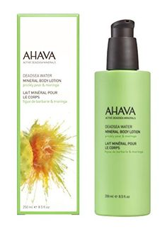 Stocking filler Gift AHAVA Mineral Body Lotion Prickly Pear  Moringa 071 fl oz >>> Details can be found by clicking on the image.
