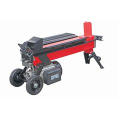 Split heavy logs quickly and safely with this 5 ton log splitter. Ready to get started on that firewood? This log splitter will sure make that job easier. Compact size for convenient storage. Split 10 in.