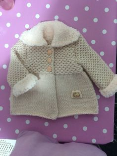 """Taze bitti """"Mouse Cardigan by Next."""", """"Bebe Yeleği, baby waistcoat, b"""", """"This post was discovered by ros"""" Knit Or Crochet, Crochet For Kids, Crochet Baby, Knit Baby Sweaters, Girls Sweaters, Baby Vest, Baby Cardigan, Knitting For Kids, Baby Knitting"""