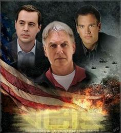 NCIS Gibbs, Mcgee and Tony