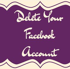 how to delete ad account contact facebook
