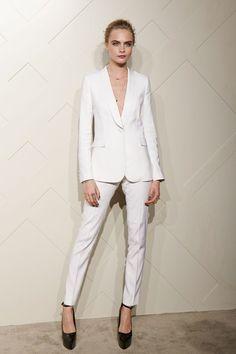comprar traje entero pantalon blanco mujer cara delevingne - Buscar con Google