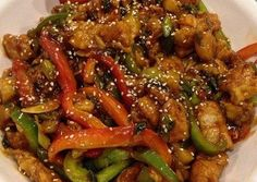 Cerdo agridulce - Jumbled Tutorial and Ideas Pork Recipes, Asian Recipes, Cooking Recipes, Healthy Recipes, Ethnic Recipes, China Food, Good Food, Yummy Food, Oriental Food