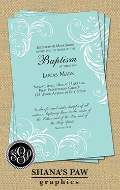 51 best baptism christening dedication images on pinterest a graceful calligraphy design and the scriptural message of christs call to baptism highlight this shanaspaw stopboris Images