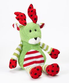 Take a look at this Red Dot Yuletide Reindeer by Mary Meyer on #zulily today!
