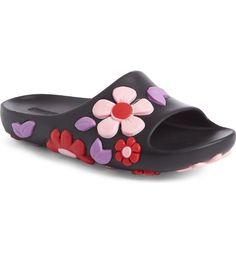 Prada Floral Slide Sandal Size 38 8US Brand New in Box #PRADA #FlipFlops