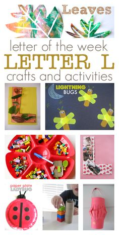 Letter L Crafts & Activities Teaching Letters, Preschool Letters, Alphabet Activities, Preschool Activities, Preschool Plans, Preschool Projects, Preschool Classroom, Preschool Learning, Future Classroom