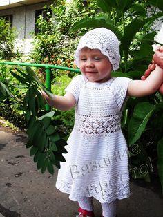Белое платье, кофточка и панамка http://www.vyazanieprosto.ru/vyazanie-dlya-detey/beloe-plate-koftochka-i-panamka/ http://вязание-просто.рф/vyazanie-dlya-detey/beloe-plate-koftochka-i-panamka/