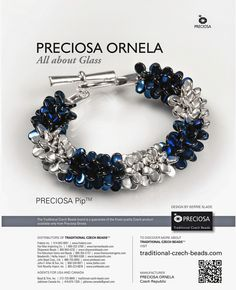 Hello everyone! I'm finally able to show you the collection I was busy working on back in March using Preciosa Ornela's brand new bead s...