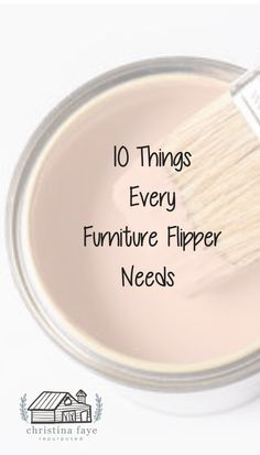 Christina Faye Repurposed - DIY Thrift Store Finds and Repurposed Furniture - - Flipping Furniture - The 10 Items I Can't Live Without. A list of common tools and supplies needed to flip furniture and other items. Diy Furniture Redo, Diy Furniture Projects, Refurbished Furniture, Repurposed Furniture, Furniture Refinishing, Painting Furniture, Furniture Repair, Wood Projects, Diy Furniture Restoration