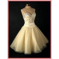 fifties style prom dress