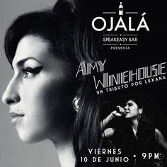 Tributo Amy Winehouse @ Ojalá Speakeasy Bar #sondeaquipr #amywinehouse #ojalaspeakeasybar #caguas #luxana