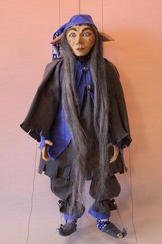 marionette puppet ma - marionette puppet marioneta títere art doll ooak marionettes puppets marionetas stringpuppet stringpuppets marionnette paperclay paper mache --- #Theaterkompass #Theater #Theatre #Puppen #Marionette #Handpuppen #Stockpuppen #Puppenspieler #Puppenspiel