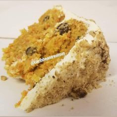 Our alcoholic Carrot Cake with cream cheese frosting Jamaican Christmas Cake, Jamaican Fruit Cake, Gourmet Recipes, Healthy Recipes, Buckwheat Cake, Decadent Cakes, Rum Cake, Moist Cakes