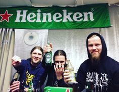 #partytime #bandroom #DyingEmpire #heineken #beer #metal #gig #show #death #thrash #party #friendship #bandmates #suicidalangels #germanmetalheads #dresden #heavy #metalmaniacs #extreme #brutalism #brutal #gore by dyingempire